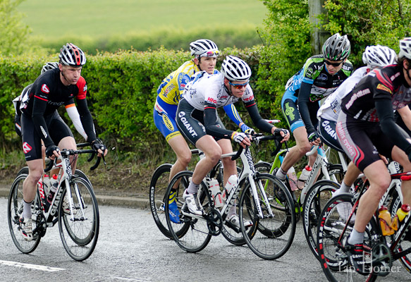 Colin Parry biding his time in the bunch